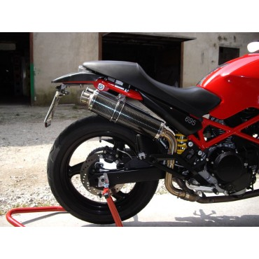 Tondo Carbon Alto Roadsitalia Ducati Monster 600 620 695 750 800 900 1000