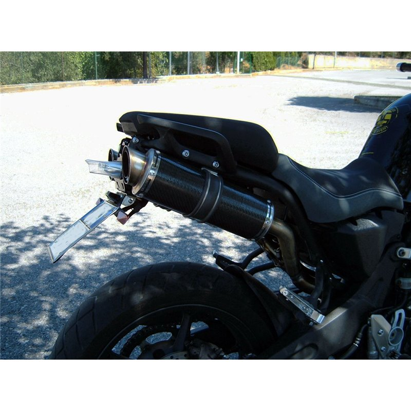 Short Titanium Black Roadsitalia Yamaha MT-09 2013-2016