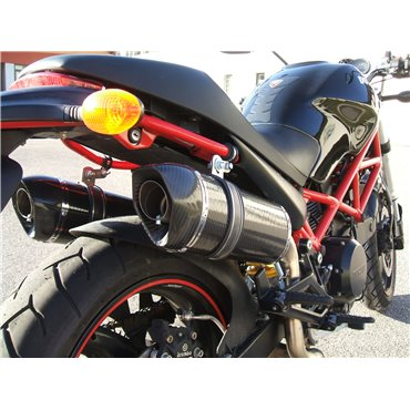 Doublefire Carbon High Roadsitalia Ducati Monster 600 620 695 750 800 900 1000