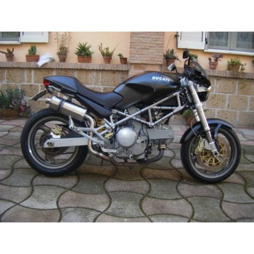 Short Titanium Alto Roadsitalia Ducati Monster 600 620 695 750 800 900 1000