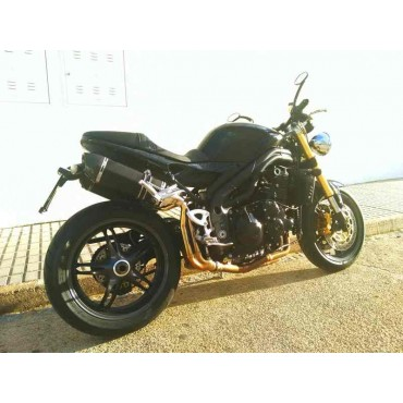 Projsix Titanium Black Roadsitalia Triumph Speed Triple 1050 2005-2015