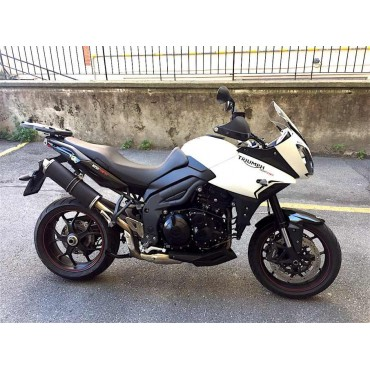 Power Titanium Black Roadsitalia Triumph Tiger 1050 Sport 2013-2015