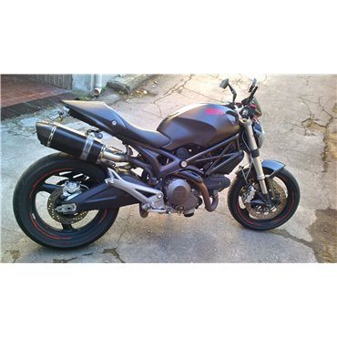 Projsix Titanium Black Roadsitalia Ducati Monster 696 796 1100