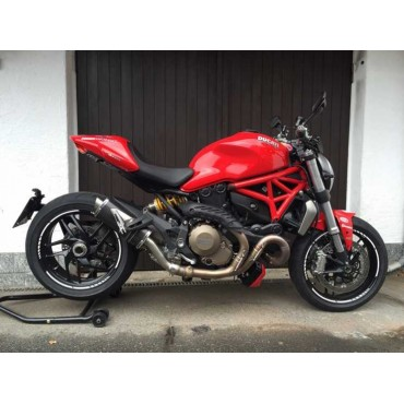 Power Titanium Black Roadsitalia Ducati Monster 821 2014-2016