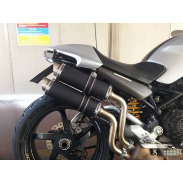 Thunder Titanium Black Roadsitalia Ducati Monster S2R S4R