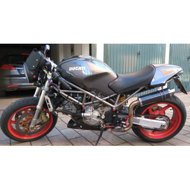 Thunder Carbon Alto Roadsitalia Ducati Monster 600 620 695 750 800 900 1000