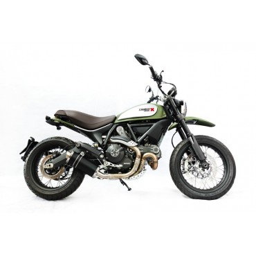 Power Titanium Black Roadsitalia Ducati Scrambler 2017-2018