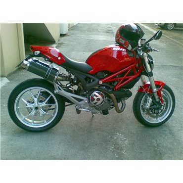 Short Carbon Roadsitalia Ducati Monster 696 796 1100