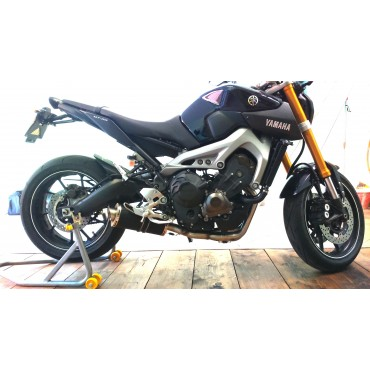 Power Titanium Black Roadsitalia Yamaha MT-09 Tracer 2015-2016