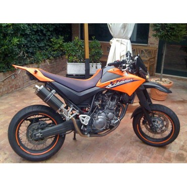 Short Carbon Roadsitalia Yamaha XT 660 X R