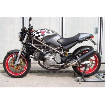 Ovale Carbon Basso Roadsitalia Ducati Monster 600 620 695 750 800 900 1000