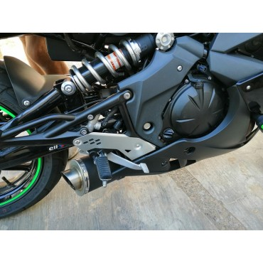 Power Titanium Black Roadsitalia Kawasaki ER6N 2005-2011