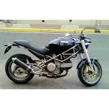 Ovale Carbon Low Roadsitalia Ducati Monster 600 620 695 750 800 900 1000
