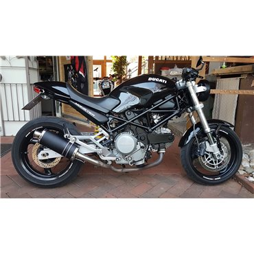 Short Titanium Black Low Roadsitalia Ducati Monster 600 620 695 750 800 900 1000 S4